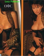 Lucy Lawless Boobs Squeezed Without Panties 001