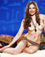 Lucy Lawless Breasts Exposed Nudes 001