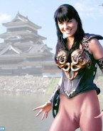Lucy Lawless Camel Toe Pantieless 001