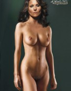 Lucy Lawless Fully Nude Breasts 002