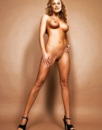 Lucy Lawless Nude Body Exposed Breasts 001