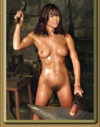 Lucy Lawless Wet Nude Body 001