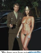 Lynda Carter Hot 6 Pack Abs Tits Exposed Fakes 001
