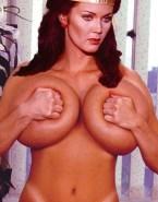 Lynda Carter Pinching Nipples Huge Boobs Nudes 001
