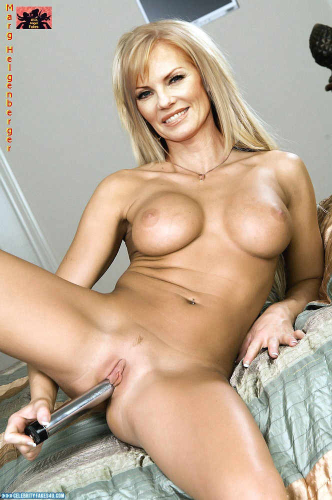 Marg Helgenberger Fake, Sex Toy, Tight Pussy, Tits, Porn