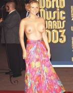 Mariah Carey Topless Red Carpet 001