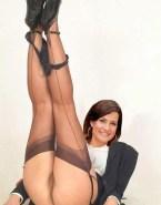 Marlene Lufen Stockings Pulls Panties Down 001