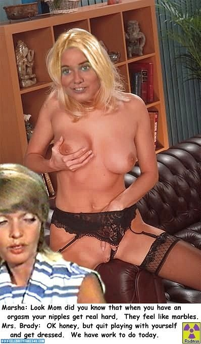 Maureen Mccormick Panties Aside Rubs Pussy Naked 001 -4249