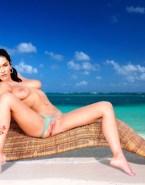 Megan Fox Beach Panties Aside Nsfw 001