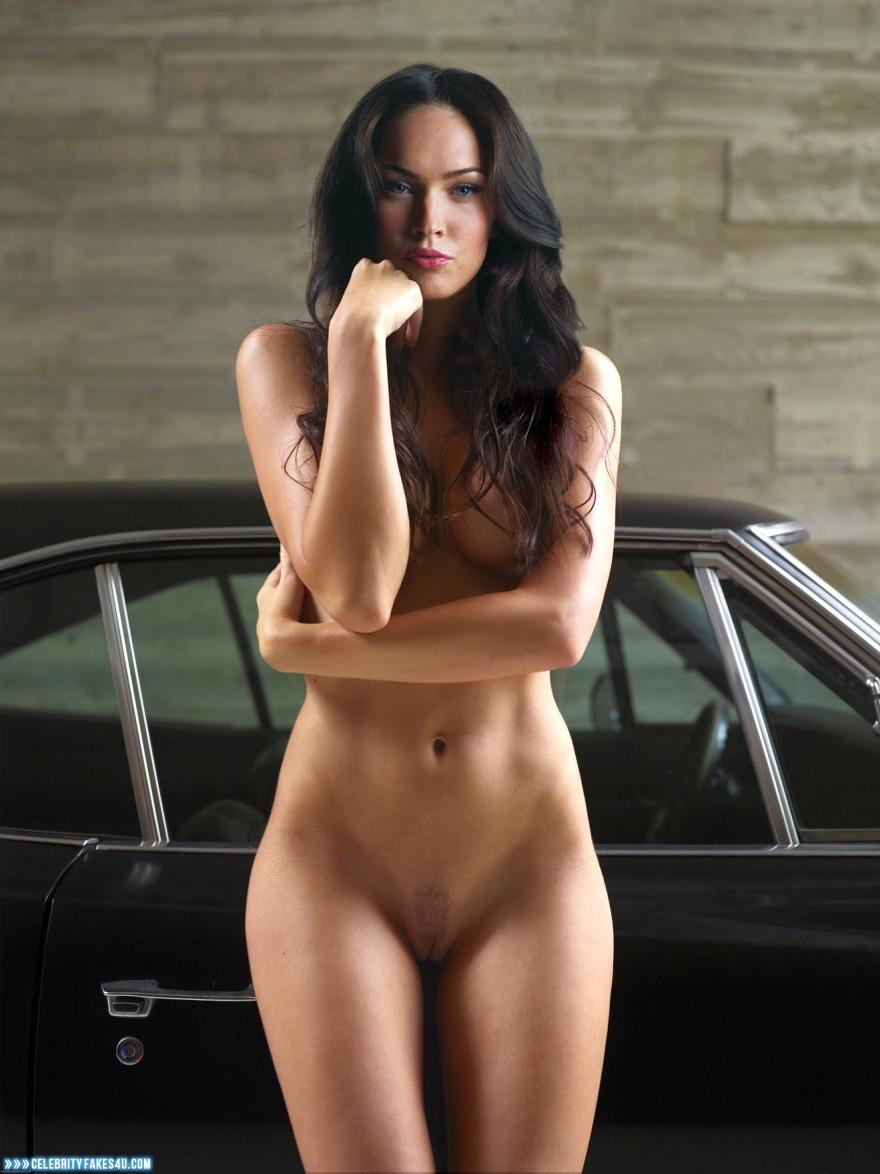 Megan Fox Fake, Camel Toe, Naked Body, Nude, Pantiless, Pussy, Porn