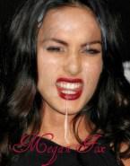 Megan Fox Facial Licks Cum 001