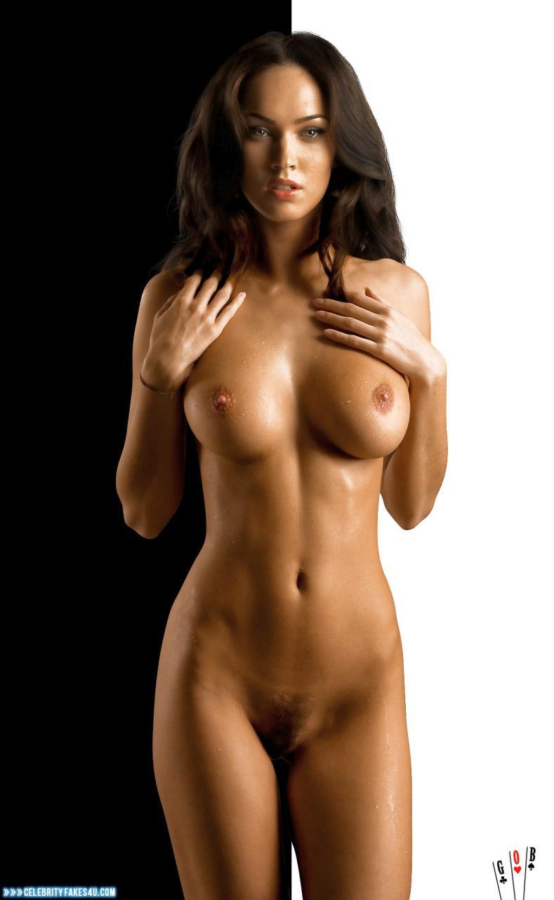 Megan Fox Fake, Naked Body, Nude, Tits, Very Nice Tits, Porn