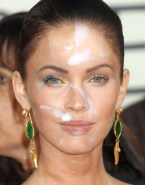 Megan Fox Public Cum Facial Nude 001