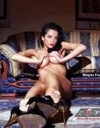 Megan Fox Squeezing Tits Porn 001