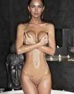 Megan Fox Squeezing Tits Wet 001