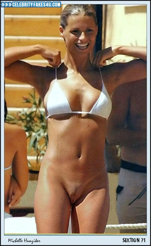 Michelle hunziker nackt fakes
