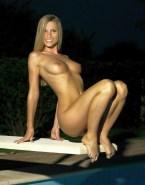 Michelle Hunziker Feet Boobs Exposed 001