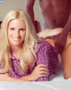 Michelle Hunziker Doggystyle Interracial Sex 001