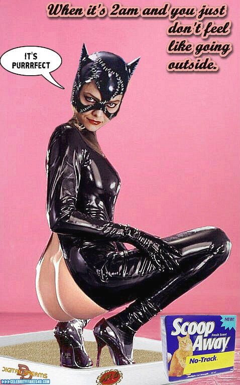 Michelle Pfeiffer Fake, Ass, Captioned, Catwoman, Porn