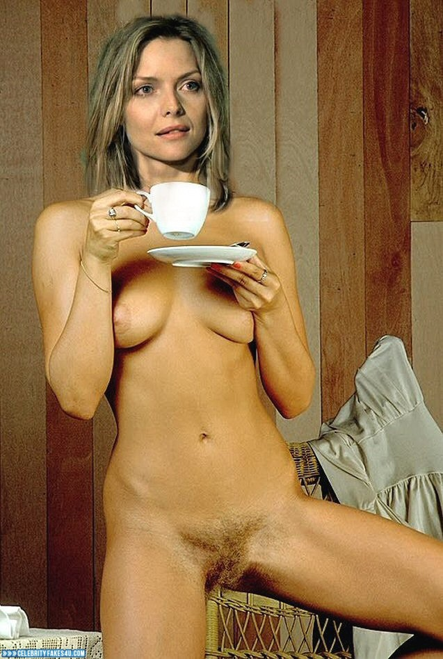 Michelle Pfeiffer Fake, Hairy Pussy, Pantiless, Tits, Porn