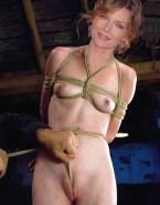 Michelle Pfeiffer Rope Bondage Squeezing Tits Naked 001