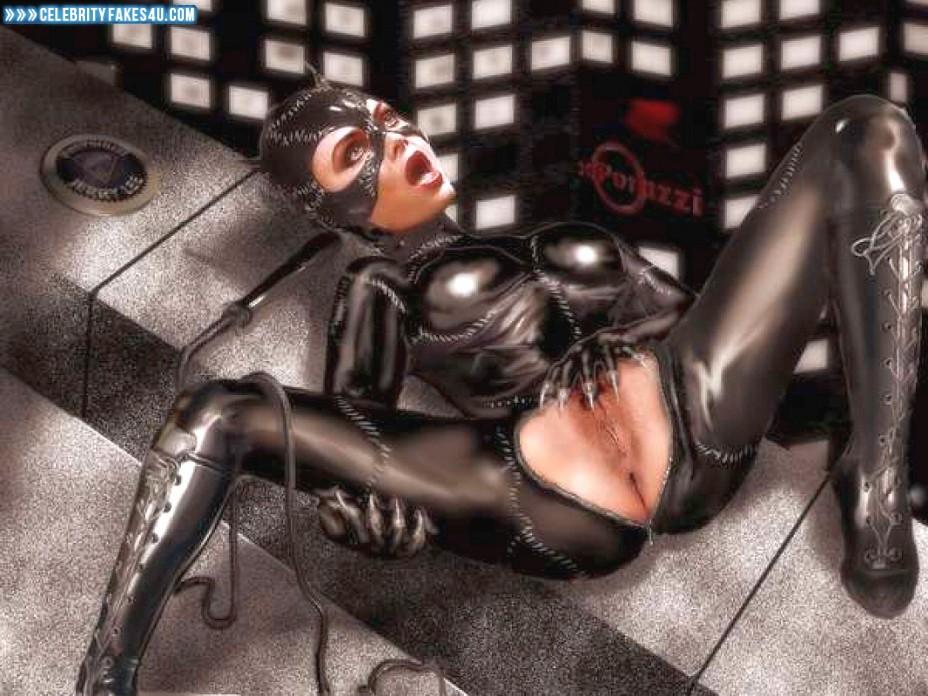Michelle Pfeiffer Fake, Catwoman, Masturbating, Porn