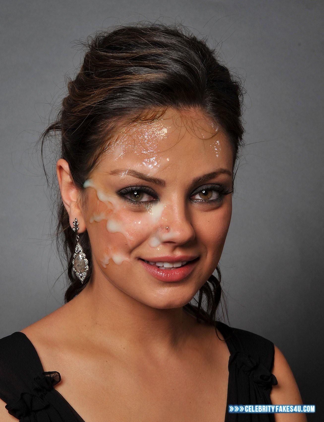 Mila Kunis Facial Cumshot Porn 001 « Celebrity Fakes 4u