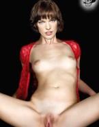 Milla Jovovich Breasts Exposing Vagina Nude 001