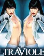 Milla Jovovich Breasts Nsfw 001