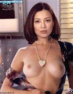 Ming Na Wen Exposed Tits Porn 001