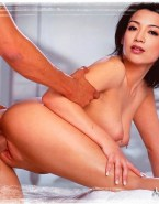 Ming Na Wen Doggystyle Nipples Pierced Sex 001