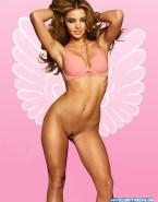 Miranda Kerr Naked Body Bra 001