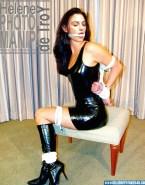 Monica Bellucci Latex Bondage Nude 001