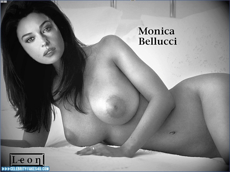 Monica Bellucci Nude Showing Her Perfectly Shaved Pussy