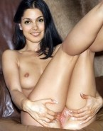 Morena Baccarin Juicy Spread Pussy Nude 001