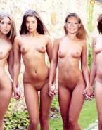 Natalie Dormer - Felicia Day - Anna Torv - Summer Glau - Naked Lesbian Fake-001