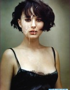Natalie Portman Cumshot Facial 002
