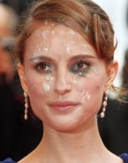 Natalie Portman Cumshot Facial Porn Fake 001