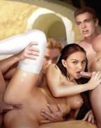 Natalie Portman Blowjob Gangbang Sex 001