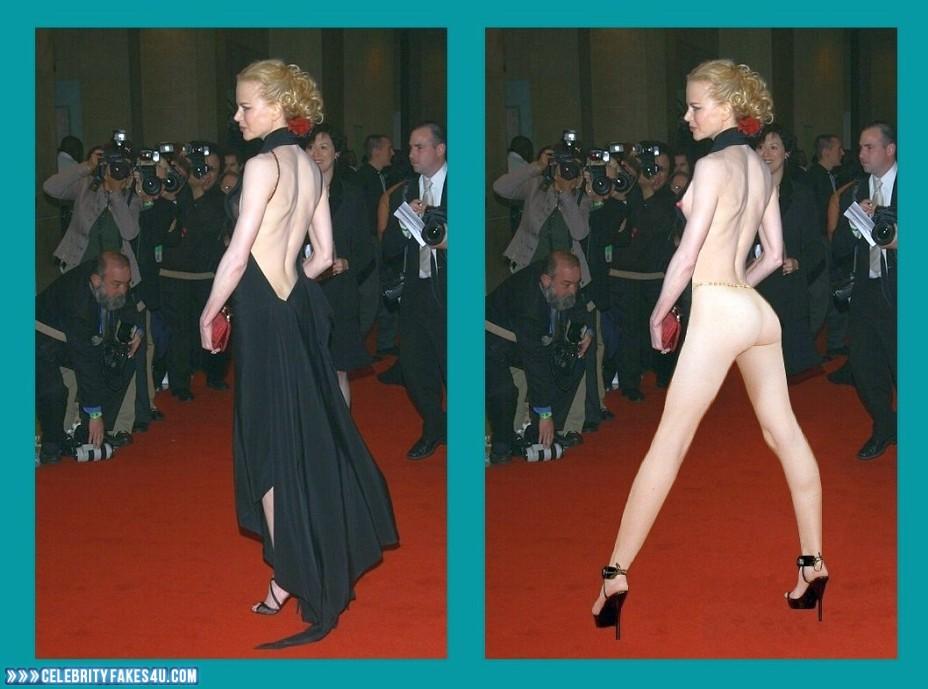 Nicole Kidman Fake, Ass, Red Carpet Event, Sexy Legs, Porn