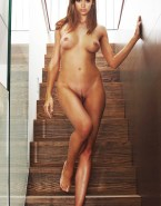 Nina Dobrev Naked Body Tits 003