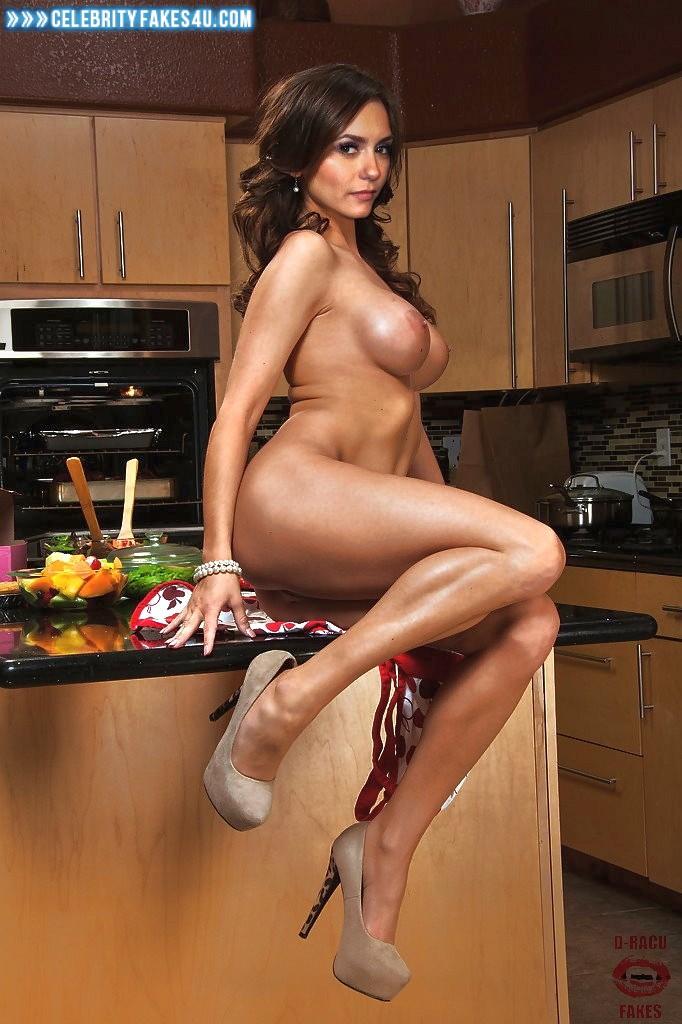 Nina Dobrev Fake, Nude, Porn