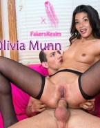 Olivia Munn Legs Spread Reverse Cowgirl Sex 001
