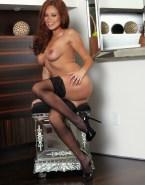 Olivia Wilde Stockings Breasts Fake 001