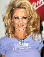 Pamela Anderson Cumshot Facial Public Nsfw 001