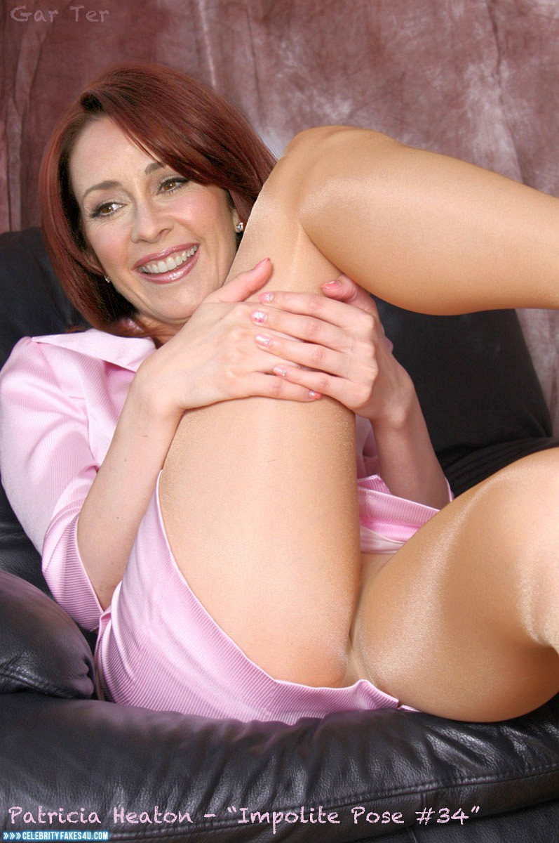 Patricia heaton up skirt