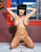 Pauley Perrette Breast Torture Collar Naked 001