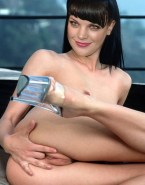 Pauley Perrette Fingers Tight Pussy Naked 001