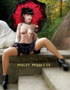 Pauley Perrette Skirt Great Tits Naked 001