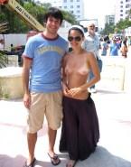 Rachel Bilson Topless Public Nsfw 001